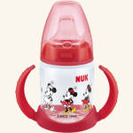 NUK First Choice lahvička na učení Mickey Mouse 150 ml